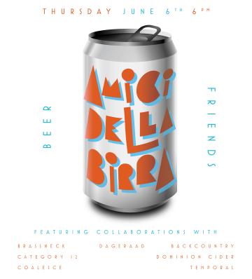 Amici Della Birra @ Luppolo Brewing Company |  |  |