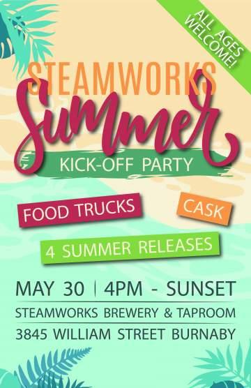 Steamworks Summer Kickoff @ Steamworks Brewery & Taproom | Burnaby | British Columbia | Canada
