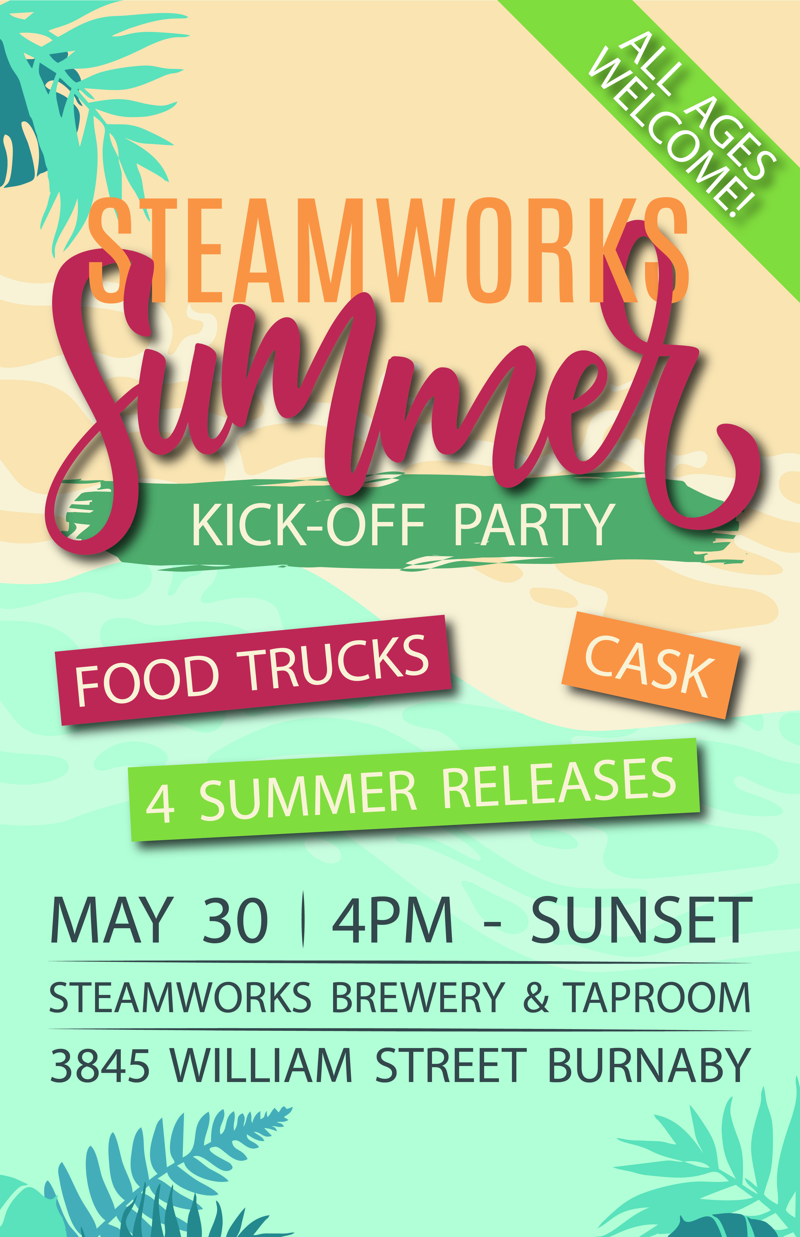 Steamworks Summer Kickoff