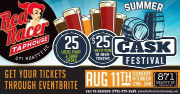 Summer Cask Festival at Red Racer Taphouse @ Red Racer Taphouse Beatty