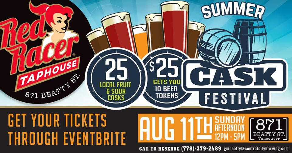 Summer Cask Festival At Red Racer Taphouse