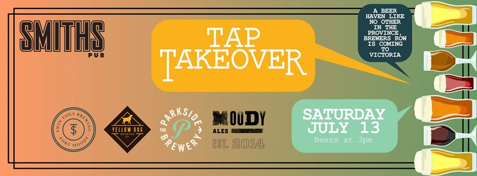 Brewers Row Tap Takeover