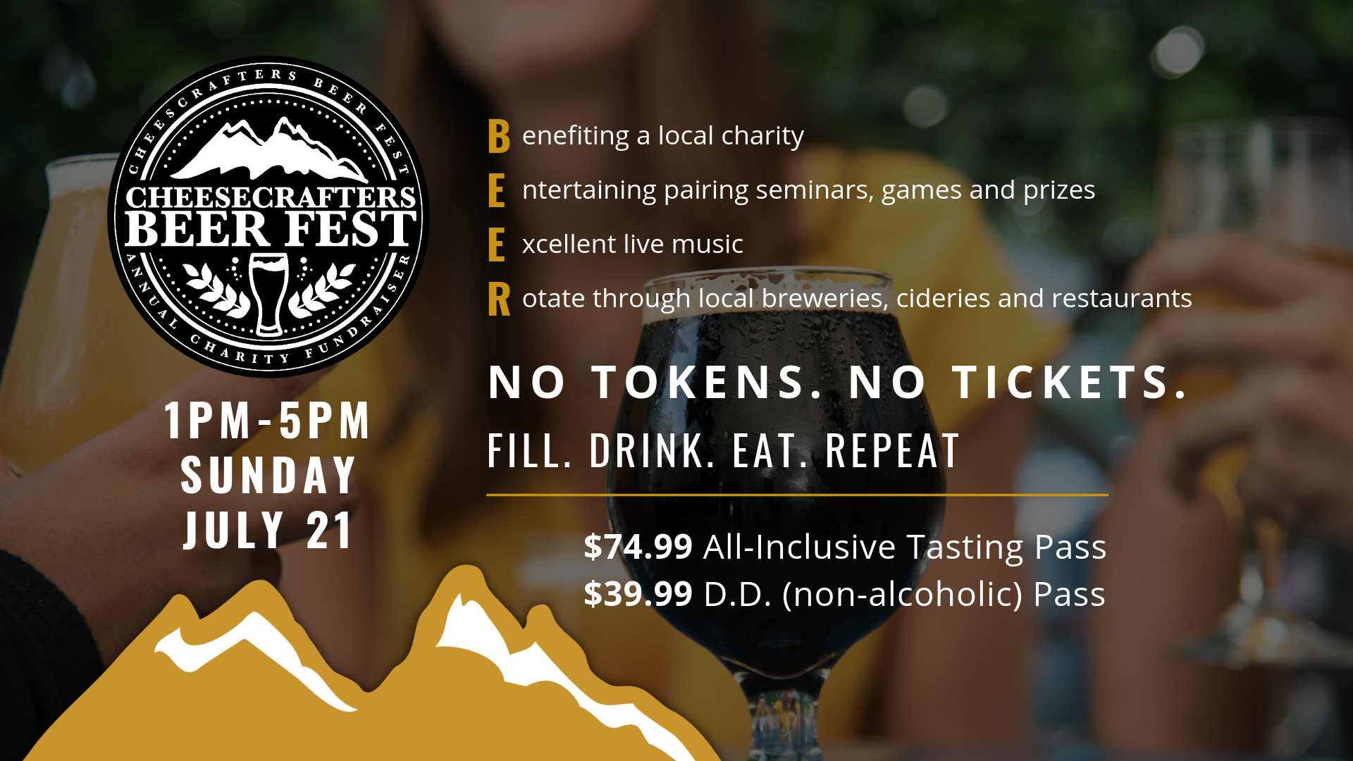 Cheesecrafters Beer Fest- 2019