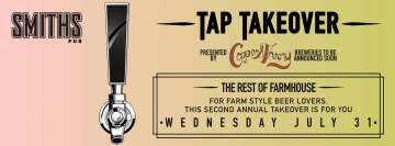 Copper & Theory Rest of Farmhouse Fest Tap Takeover @ Smiths Pub