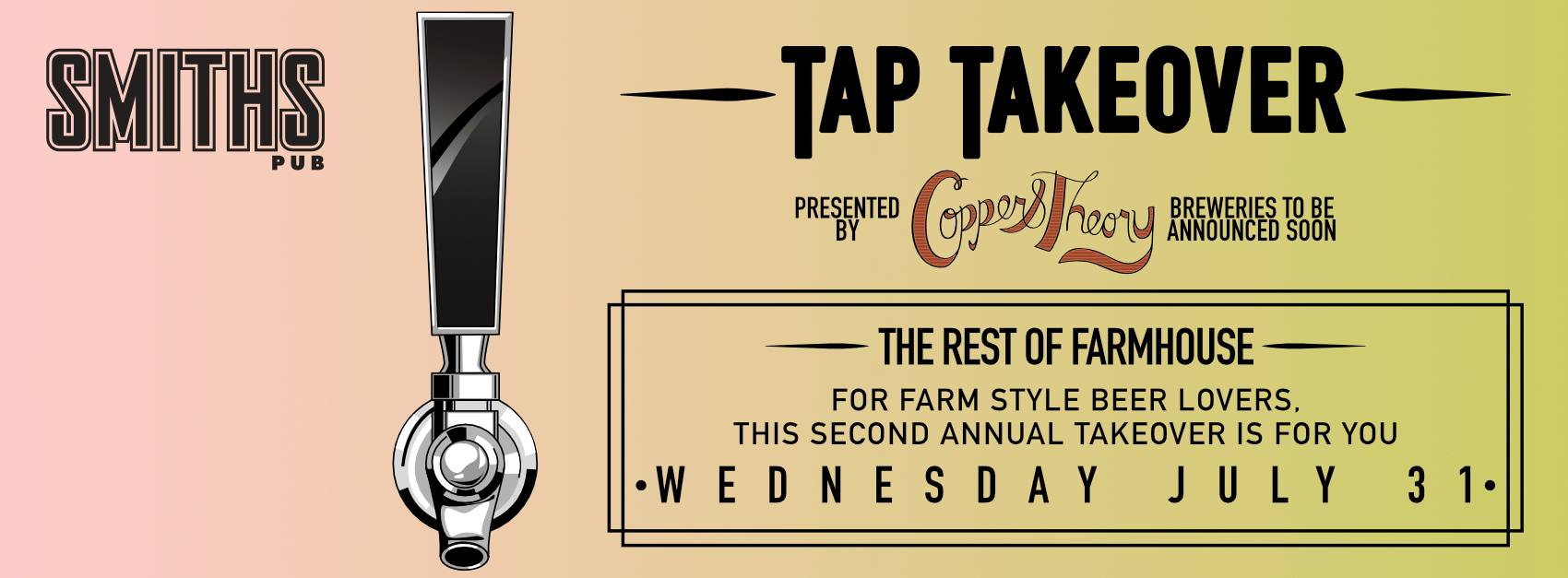 Copper & Theory Rest Of Farmhouse Fest Tap Takeover