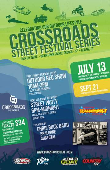 CrossRoads Brewing Street Festival @ CrossRoads Brewing | Prince George | British Columbia | Canada