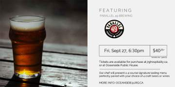4 Course Parallel 49 Brewing Pairing Dinner at Oceanside Public House @ Oceanside Public House | | |