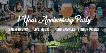 1 Year Anniversary - Beer Launch Extravaganza @ Dead Frog Brewery | Langley City | British Columbia | Canada