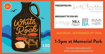 White Rock Craft Beer Festival @ White Rock BIA