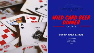 Wild Card Beer Dinner at the Heron Rock Bistro @ Heron Rock Bistro