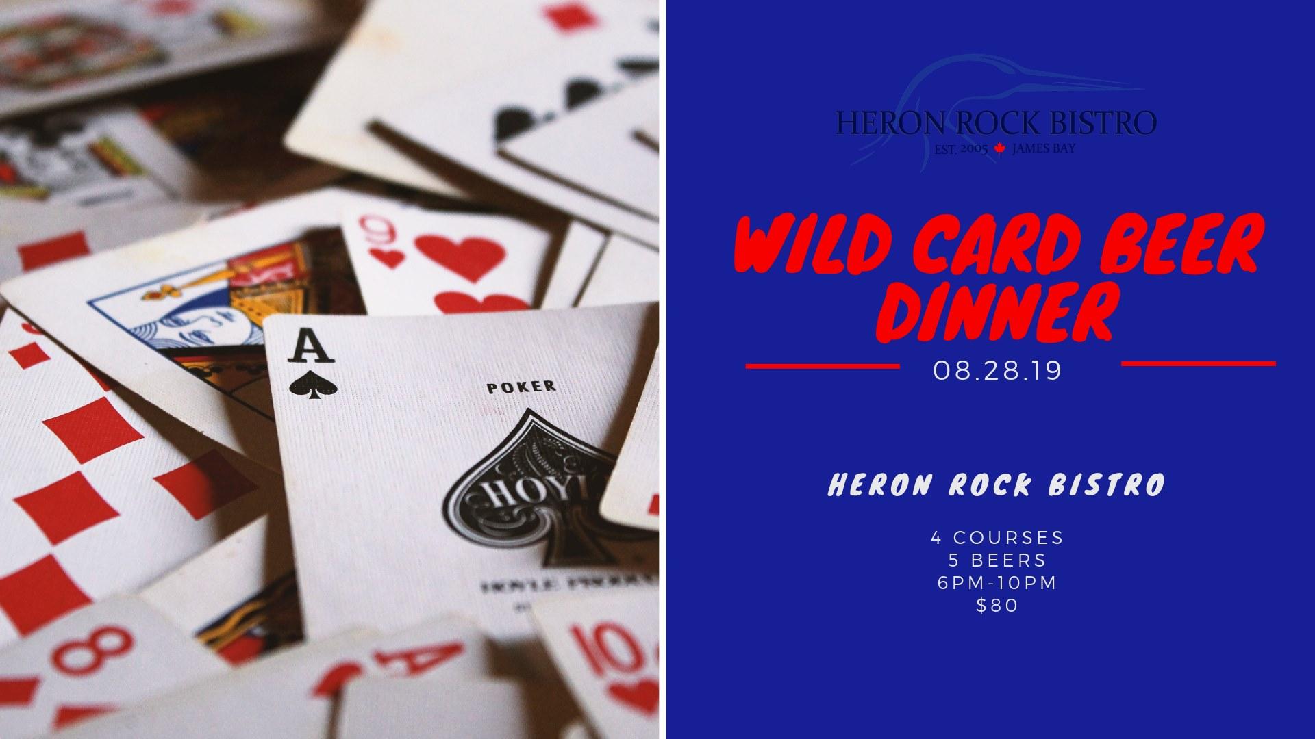Wild Card Beer Dinner At The Heron Rock Bistro