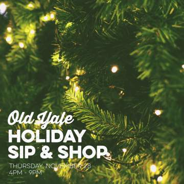 Old Yale Holiday Sip and Shop @ Old Yale Brewing |  |  |