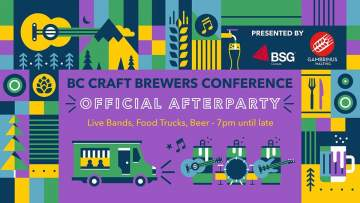 BC Beer Con Official After Party @ Maritime Labour Centre