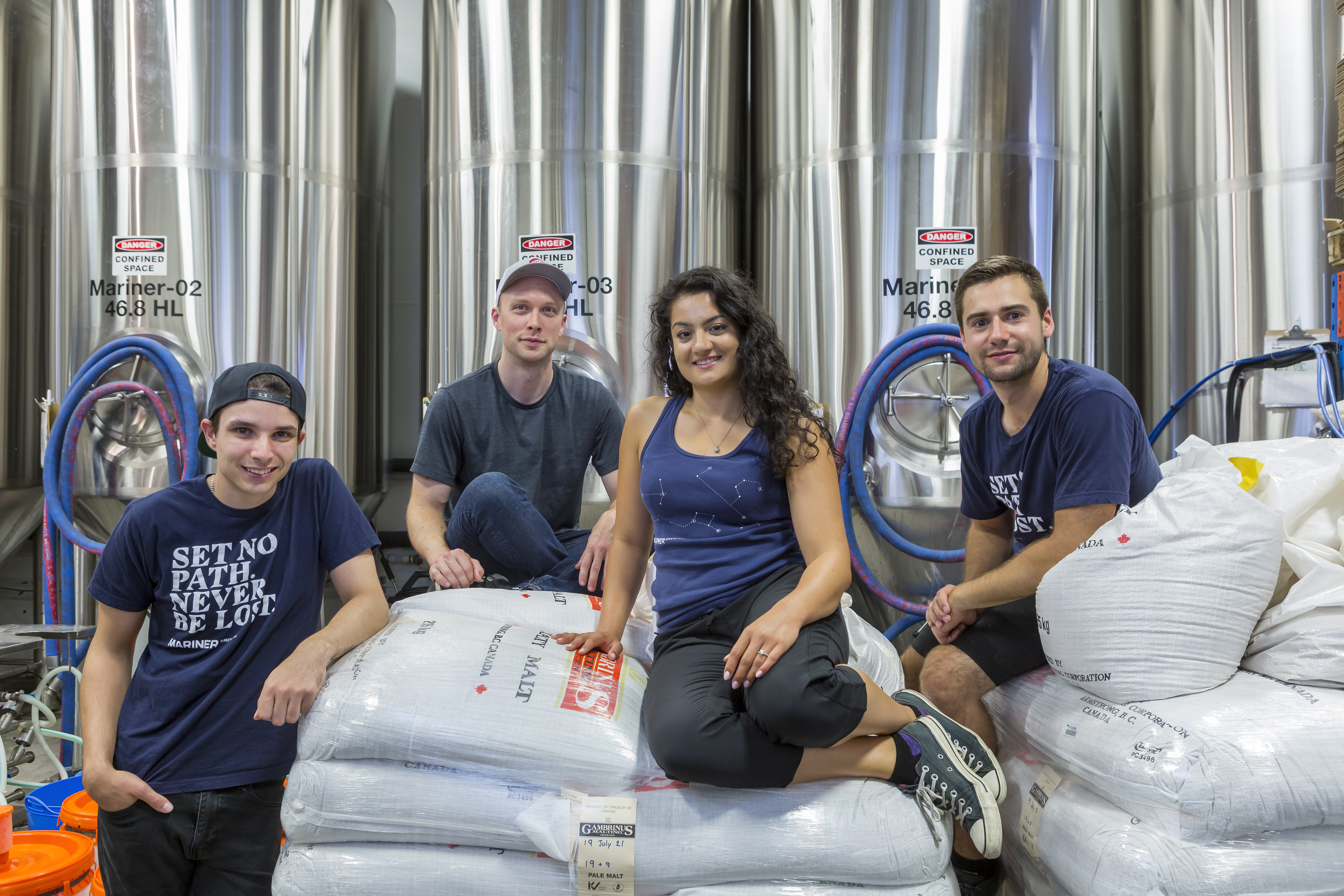 FALL 2019 COVER STORY: COQUITLAM'S MARINER BREWING