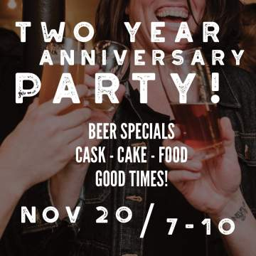 Two Year Anniversary Party @ East Van Brewing Company