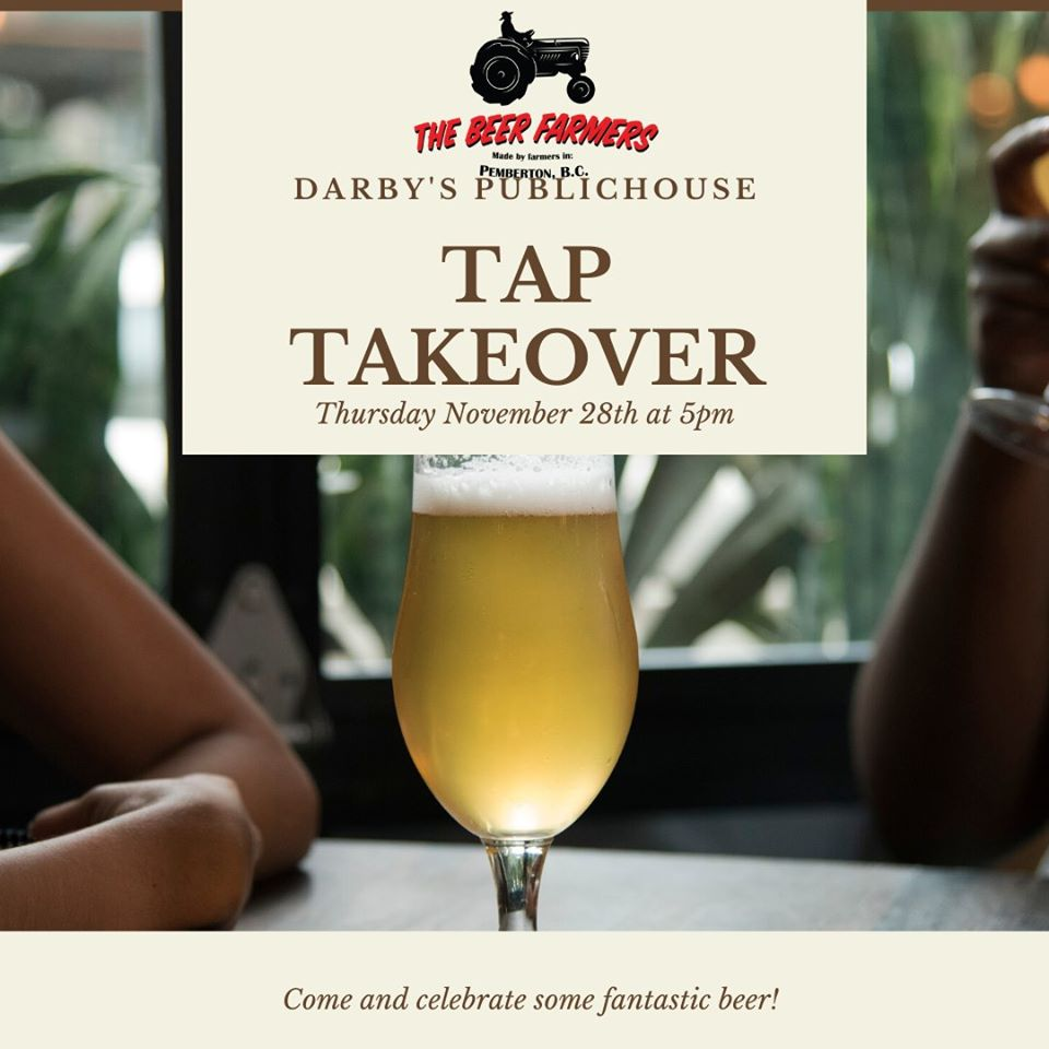 The Beer Farmers Tap Takeover