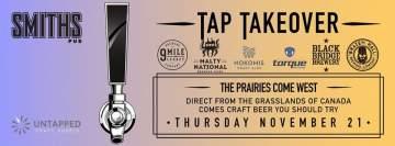 Prairies Tap Takeover @ Smiths Pub