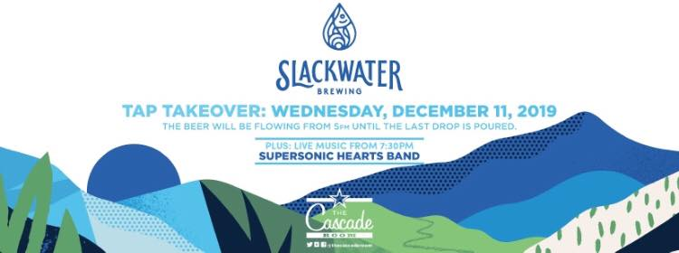 Slackwater Brewing Tap Takeover