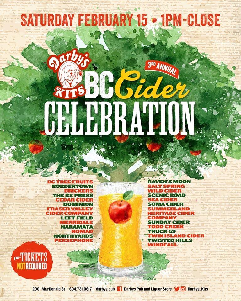 3rd Annual BC Craft Cider Celebration