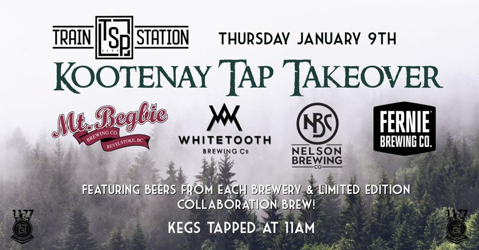 Tap Takeover: Kootenay Breweries