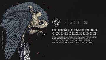Origin of Darkness Collective Arts Beer Dinner @ The Red Accordion | Vancouver | British Columbia | Canada
