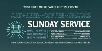 Sunday Beer Service at Prototype @ Prototype Coffee