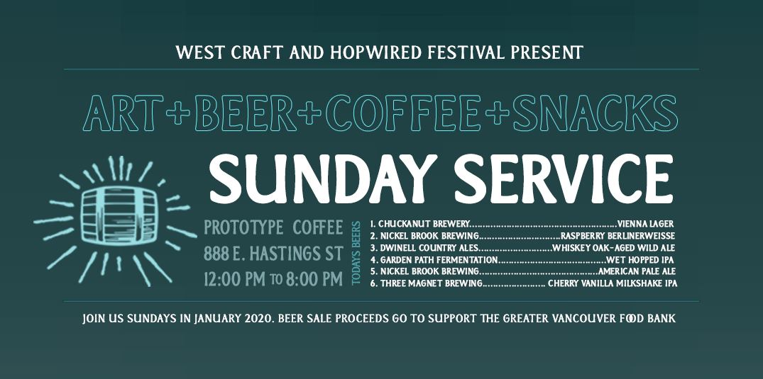 Sunday Beer Service At Prototype