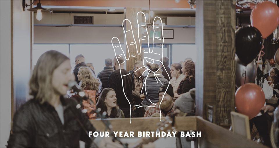4 Year Birthday Bash!
