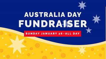 Australia Day Fundraiser @ BREWHALL