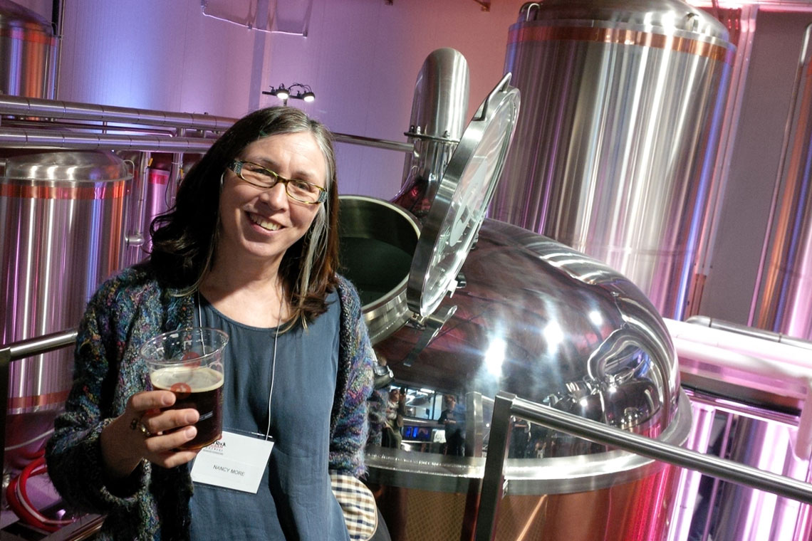 KPU Brewing's Nancy More: Learning From A Legend