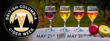 BC Cider Week 2020 @ Various