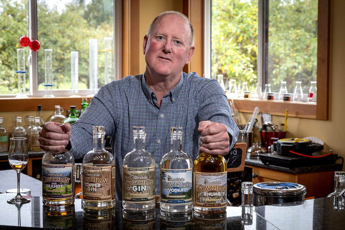 Meet Merridale's Distiller, Rick Pipes
