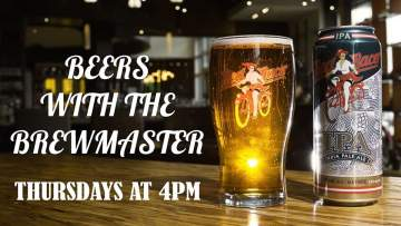Red Racer's Beers With The Brewmaster: Thursdays @ Facebook LIVE