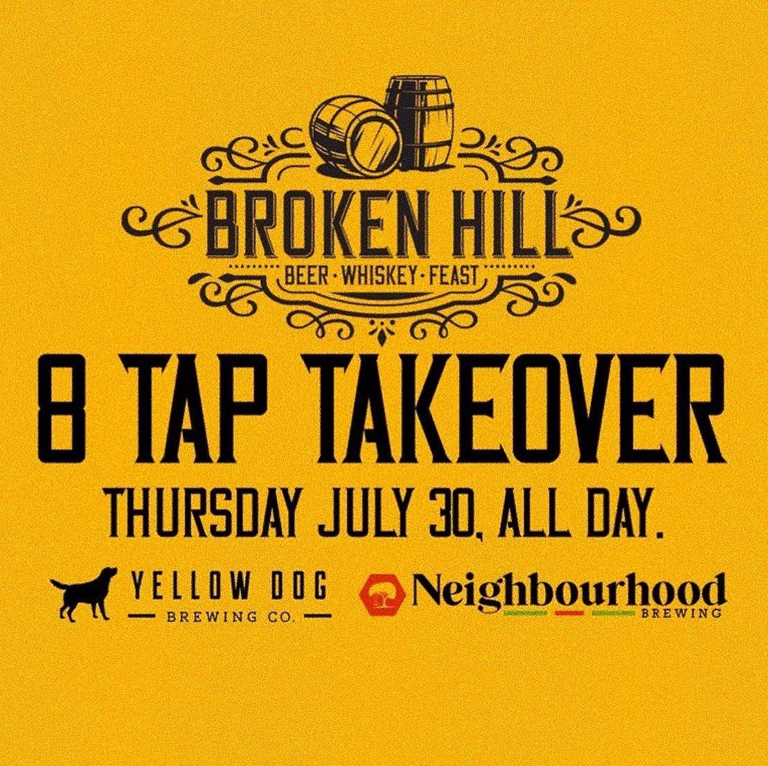Yellow Dog // Neighbourhood Tap Take-Over